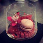 Raspberry-glass